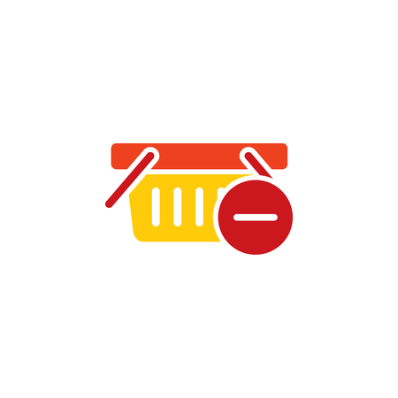 Delete Shop Logo Icon Design