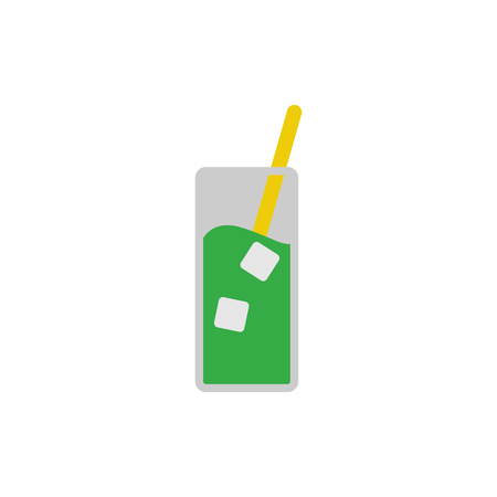 Ice Drink Logo Icon Design