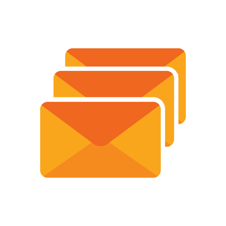 Email Logo Icon Design 일러스트