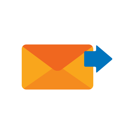 Send Email Logo Icon Design Illustration