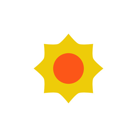 Sun Gardening Logo Icon Design