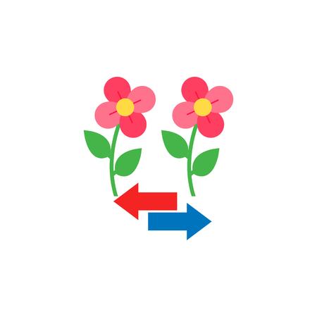 Arrow Gardening Logo Icon Design