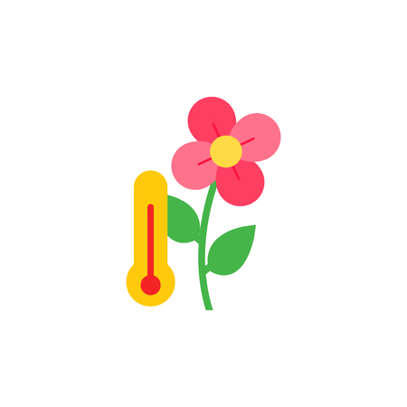 Temperature Gardening Logo Icon Design