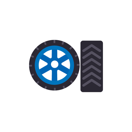 Tire Gas Station Logo Icon Design