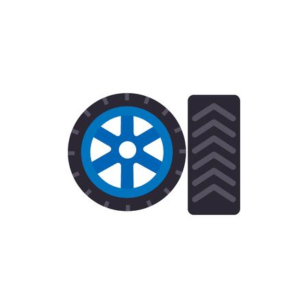 Tire Gas Station Logo Icon Design