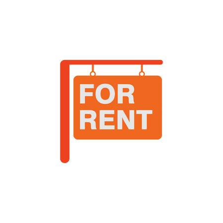 Wynajem domu sprzedaż Logo ikona Design