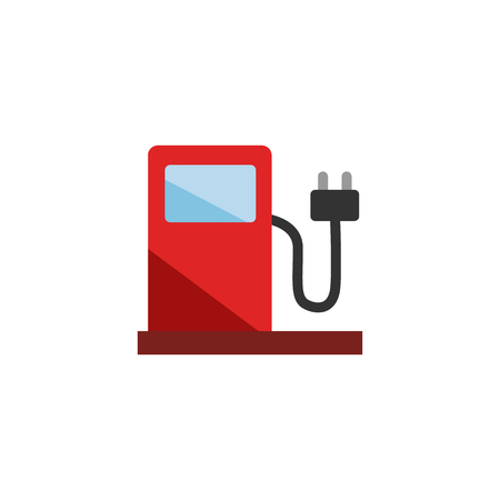 Power Gas Station Logo Icon Design Illustration