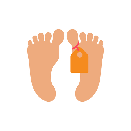 Foot Human Organ Logo Icon Design 向量圖像