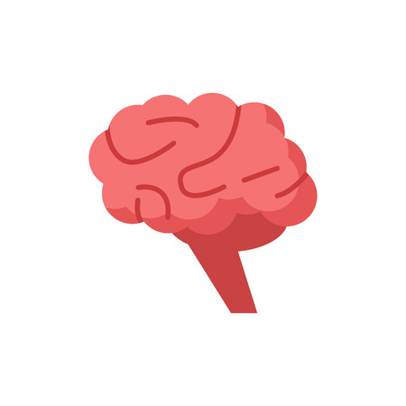 Brain Human Organ Logo Icon Design Ilustrace