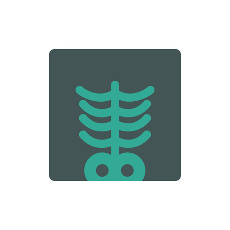 Bone Human Organ Logo Icon Design