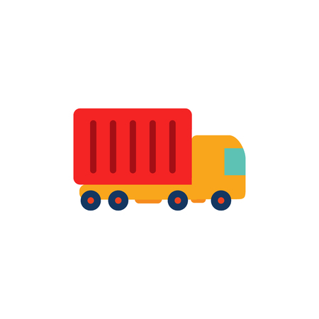 Truck Logistic Icon Design