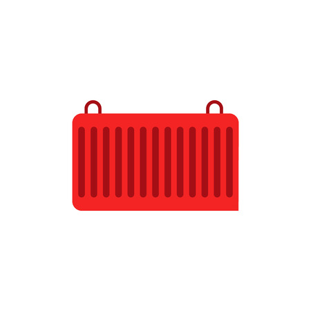 Container Logistic Icon Design  イラスト・ベクター素材