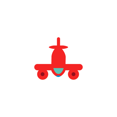 Plane Logistic Icon Design