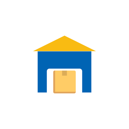 Warehouse Logistic Icon Design