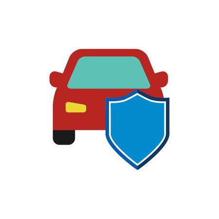 Car Insurance Icon Design