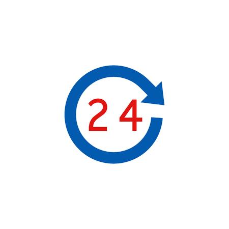 Time Logistic Icon Design