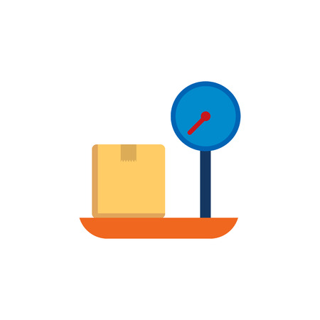 Weigh Logistic Icon Design 向量圖像