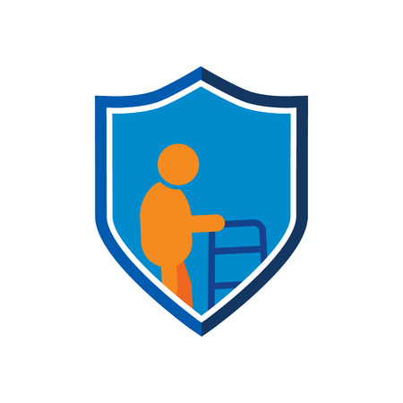 Pension Time Insurance Logo Icon Design