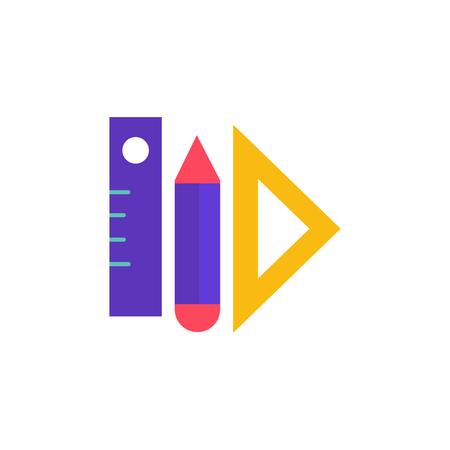 Measure School And Education Logo Icon Design