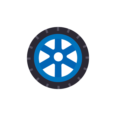 Tire Sparepart And Car Logo Icon Design