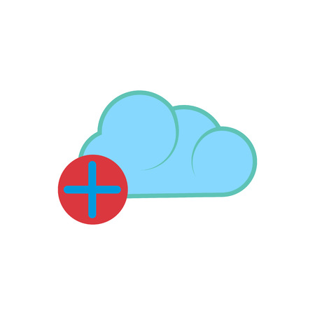 Add Cloud Computing Logo Icon Design