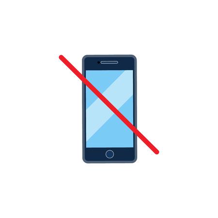 No Call Logo Icon Design