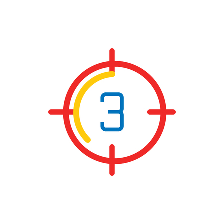 Target Film Video Logo Icon Design
