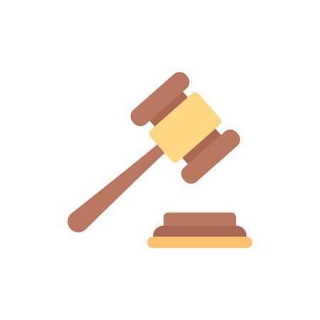 Création d & # 39; icône de logo de finance de droit