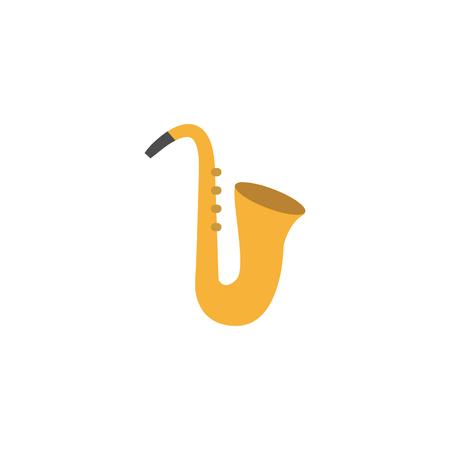 Saxophone Music Entertainment Logo Icon Design