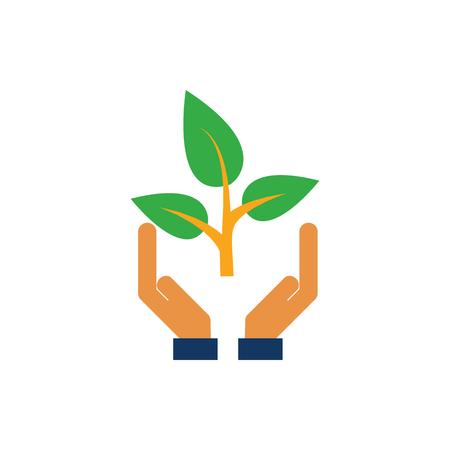Care Nature Logo Icon Design Logo