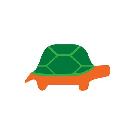 Turtle Pet Logo Icon Design Stock Illustratie