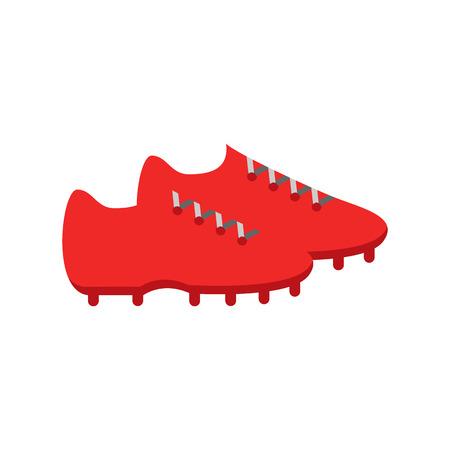 Shoe Soccer Logo Icon Design
