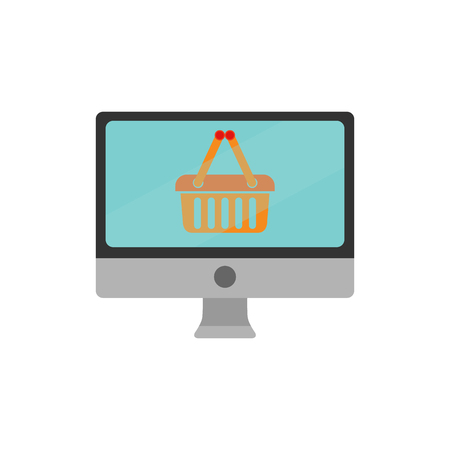 Online Shop And Buy Logo Icon Design
