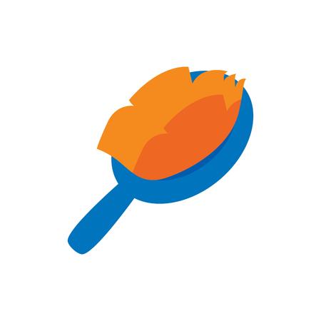 Brush Pet Logo Icon Design