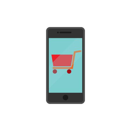 Mobile Shop And Buy Logo Icon Design
