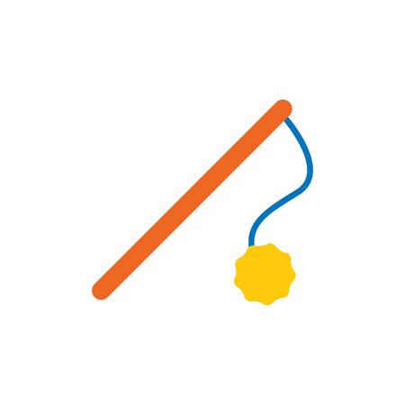 Conception d & # 39; icône de logo animal jouet