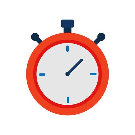 Stopwatch Time Logo Icon Design
