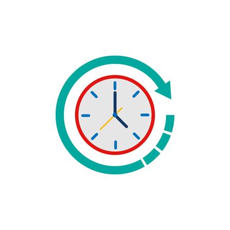 Refresh Time Logo Icon Design