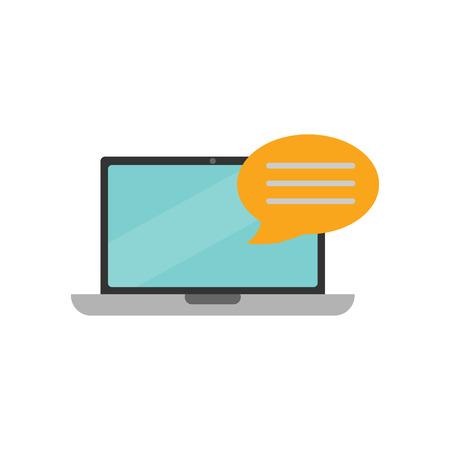 Online Testimonial Logo Icon Design