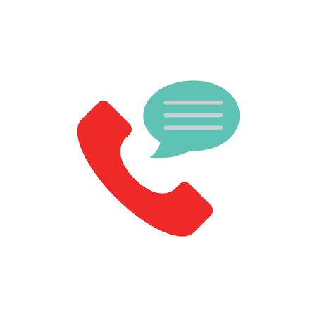 Call Testimonial Logo Icon Design