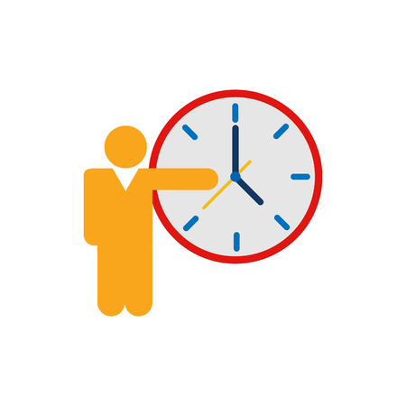 Job Time Logo Icon Design
