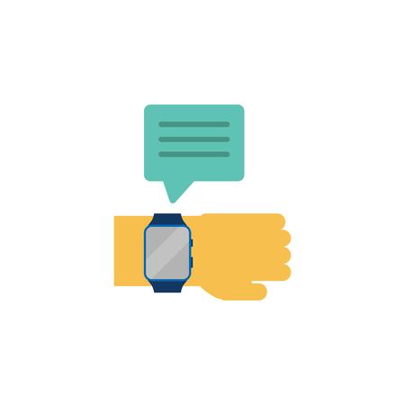 Watch Testimonial Logo Icon Design
