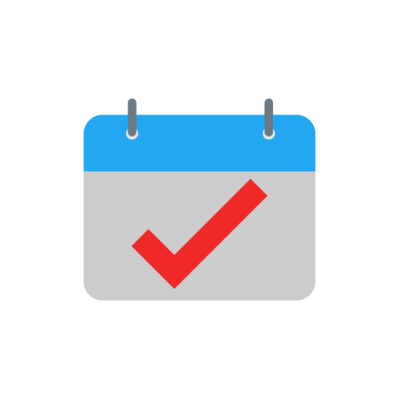 Check Time Logo Icon Design