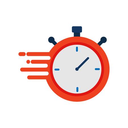 Fast Time Service Logo Icon Design Vettoriali