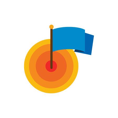 Target Time Service Logo Icon Design