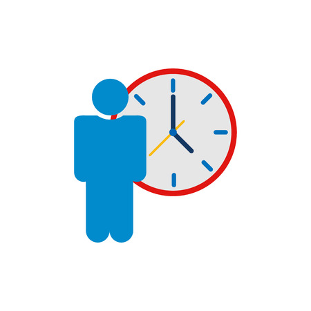People Time Service Logo Icon Design
