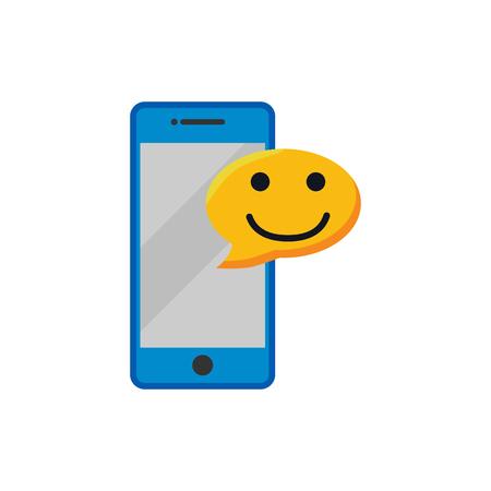 Mobile Testimonial Logo Icon Design