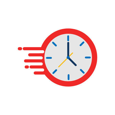 Fast Time Logo Icon Design