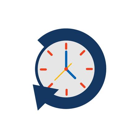 Refresh Time Service Logo Icon Design