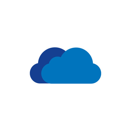 Cloud Weather Logo Icon Design